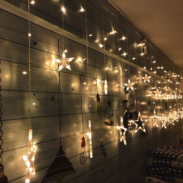 Star Curtain Lights Fairy Lights The Light Lady Nz