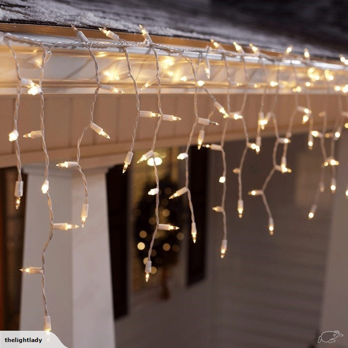 Outdoor Icicle Lights Outdoor Fairy Lights The Light